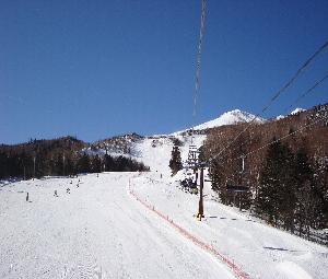 スキー、スノボ日和